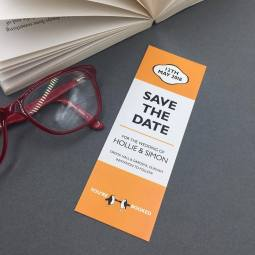 PENGUIN BOOKMARK SAVE THE DATE
