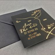 Victorias Paperie - Alex and Ashley Save the Date