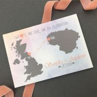Victorias Paperie - Sandra and Andrew Save the Date