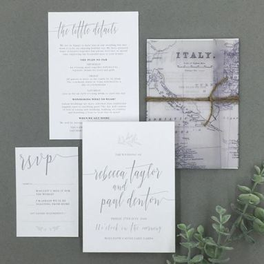 victorias paperie - weddings abroad Rebecca and Paul Italy